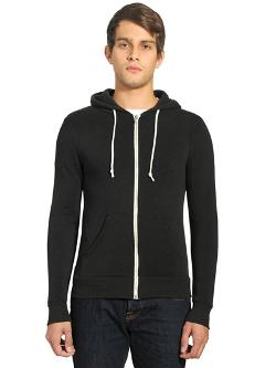Alternative  - Rocky Eco Fleece Zip Hoodie Sweatshirt
