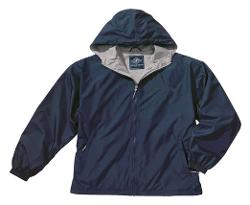 Charles River Apparel  - Youth Water-Resistant Full-Zip Hooded Jacket