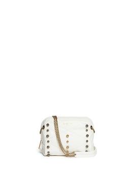 Lanvin  - Baby Sugar Metal Pearl Leather Crossbody Bag