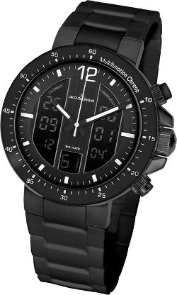 Jacques Lemans  - Analog-Digital Silicon Strap Watch