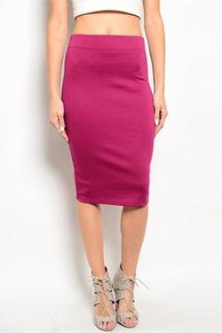 Avenue A - Bodycon Pencil Skirt