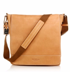 Shinola  - Pressed Essex Leather Messenger Bag