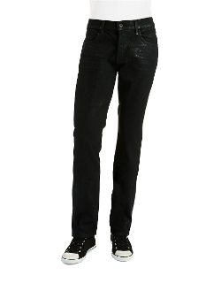 Hunson Jeans - Coated Straight Legged Jeans