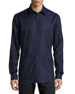 Just Cavalli   - Long-Sleeve Dress Shirt
