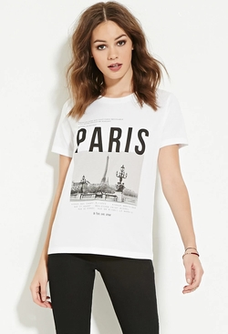 Forever21 - Paris Graphic Tee
