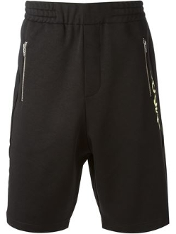 McQ by Alexander McQueen  - Zipped Pockets Track Shorts