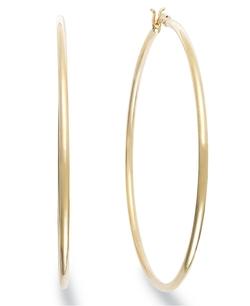 Giani Bernini - Large Hoop Earrings