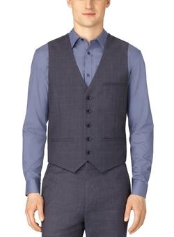 Calvin Klein - Twill Plaid Vest