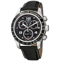 Tissot - Leather Strap Chronograph Dial Watch