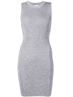 T By Alexander Wang - Cut-Out Back Dress