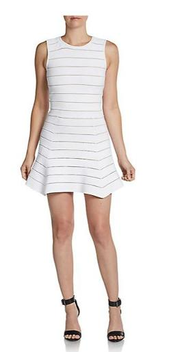 Torn By Ronny Kobo - Aubrey Bandage Mini Dress