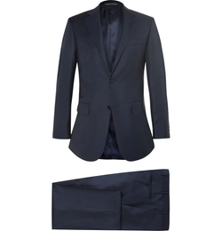 Canali - Slim-Fit Super  Wool Suit