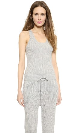 T by Alexander Wang  - Cash Wool Knit Tank