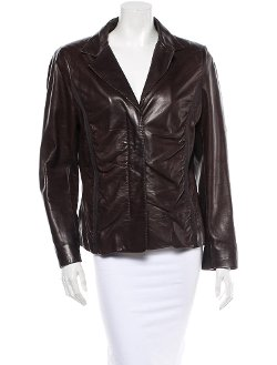 Donna Karan -  Leather Jacket
