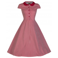 Lindy Bop - Vintage Collar Shirt Dress