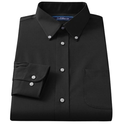 Croft & Barrow - Broadcloth Button-Down Collar Dress Shirt
