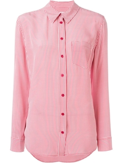 Equipment   - Gingham Print Shirt