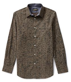 Cremieux  - Jeans Long Sleeve Woven Print Shirt