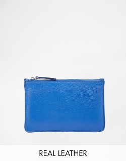 Asos - Warehouse Flat Leather Pouch