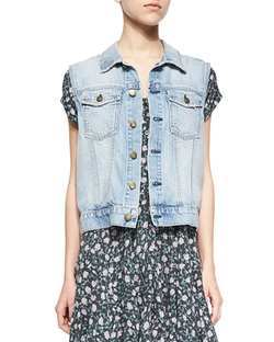 Current/Elliott - Rider Denim Vest