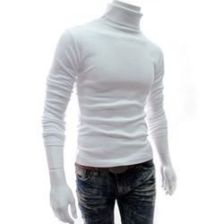 Springwind - Slim Fit Solid Turtleneck Sweater