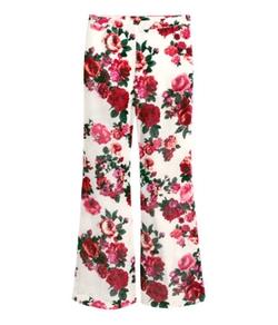 H&M - Patterned Pants