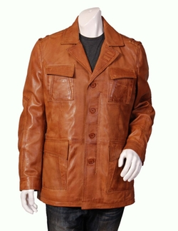 House Of Leather - Safari Grant Leather Jacket