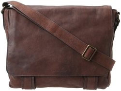 Frye - Logan Pressed Nubuck Messenger Bag