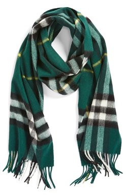 Burberry - Heritage Check Cashmere Scarf