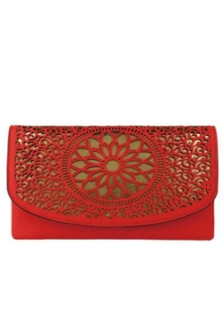 Beth Friedman - Laser Cut Clutch Bag