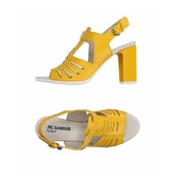 Jil Sander Navy - Leather sandals