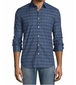 John Varvatos Star USA  - Plaid Slim-Fit Sport Shirt