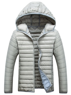 Chouyatou  - Hooded Light-Weight Packable Down Puffer Jacket