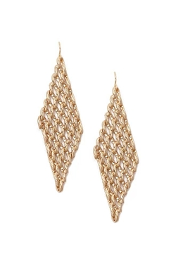 Forever 21 - Chain Chandelier Drop Earrings
