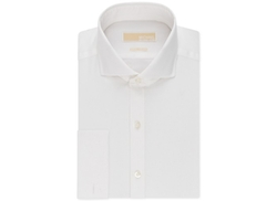 Michael Kors - Textured Solid French Cuff Dress Shirt