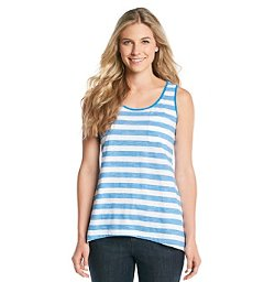 Jones New York Sport - Striped Tank Top