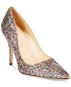 Kate Spade New York - Licorice Too Multicolor Glitter Pumps