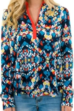 Karlie Clothes - Multi Geo Top