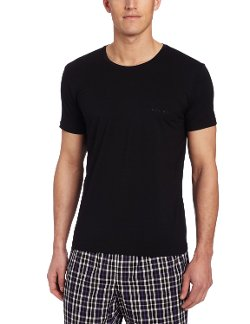 Hugo Boss  - Balance Pima Cotton Modal Crew Neck Shirt