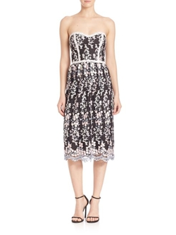 Parker  - Sonny Strapless Floral Dress