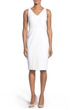 Classiques Entier - Gemma Jacquard & Ponte Sheath Dress