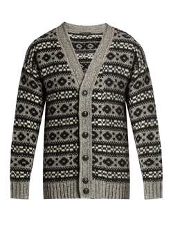Marc Jacobs   - Oversized Icelandic-Knit Cardigan