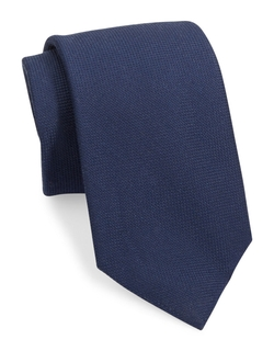 Black Brown - Solid Wool Tie