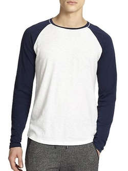 Vince  - Slub Cotton Baseball Tee