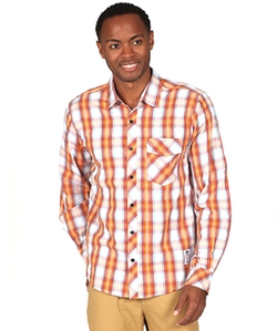 Something Strong - Plaid Woven Shirt