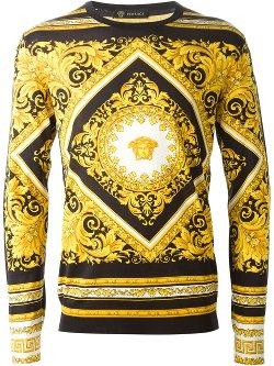 Versace  - Medusa Print Sweater