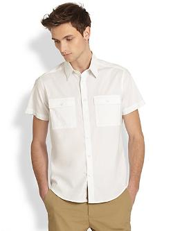 Theory  - Feynold Cotton Sportshirt