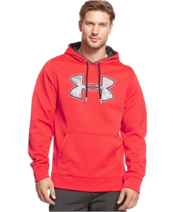 Under Armour - Fleece Print Logo Hoodie