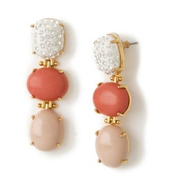 Lele Sadoughi  - Triple Drop Earrings