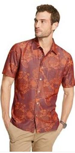 Van Heusen  - Floral Casual Button-Down Shirt